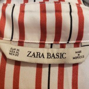 Zara Tops - Zara Basic Oversized Blouse